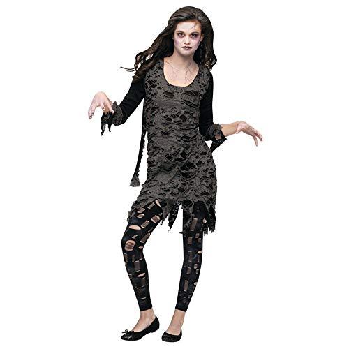 Living Dead Teen Costume, 0-9, Black]()