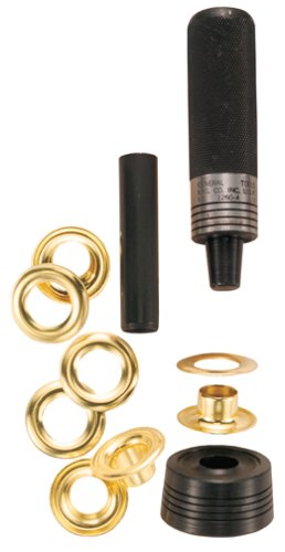 General Tools 1260-4 1/2-Inch Solid Brass Grommet Kit