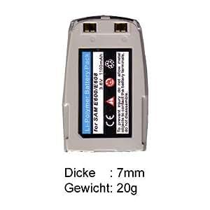 ME-DL-A229 - Batería de ion de litio (3,6 V, 750 mAh) para Samsung SGH-E600
