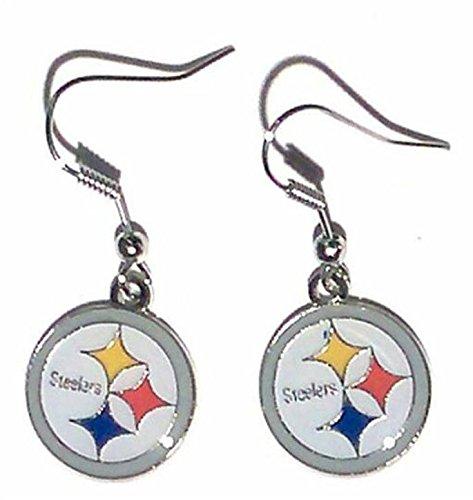 Candle Steelers Pittsburgh Nfl (NFL Pittsburgh Steelers Logo Dangler Earrings)