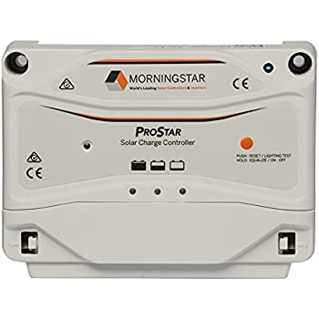 MorningStar ProStar PS-30 PWM Solar Charge Controller, 30 Amp 12/24 Volts