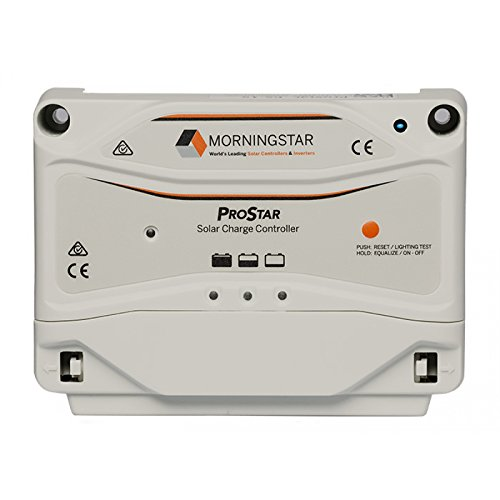 MorningStar ProStar PS-30 PWM Solar Charge Controller, 30 Amp 12/24 Volts by Morningstar