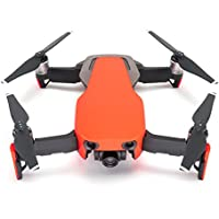 Wrapgrade Poly Skin for DJI Mavic Air | Unit A: Colored Parts and Rear Trim (NEON ORANGE)