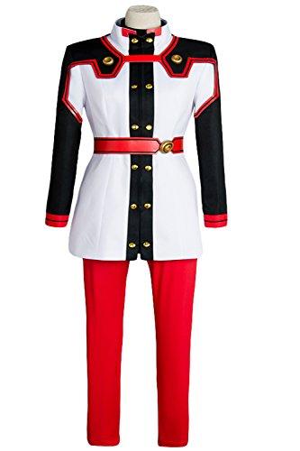UU-Style Sword Art Online Ordinal Scale Asuna Cosplay Costume Uniform Battle Suit (Blue Asuna Costume)