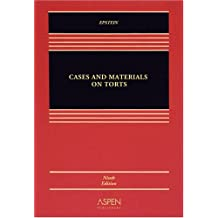 Cases and Materials on Torts (Casebook Series)