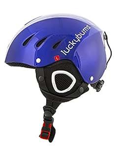 Lucky Bums Snow Sport Helmet, Blue, Small