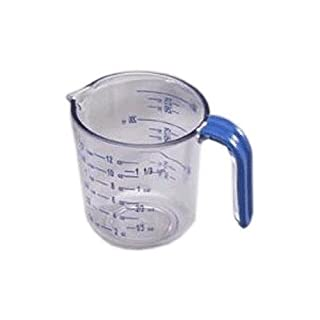 Arrow Plastic 00030 Measuring Cup, One Size, Clear