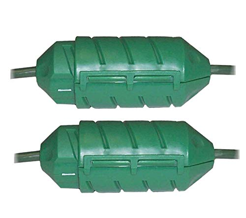 Farm Innovators Model CC-2 Cord Connect Water-Tight Cord Lock - Green (2 Pack)