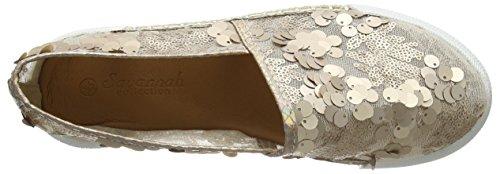 Spot On Women's F80247 Espadrilles Gold (Rose Gold) 1nZVmRmrSb