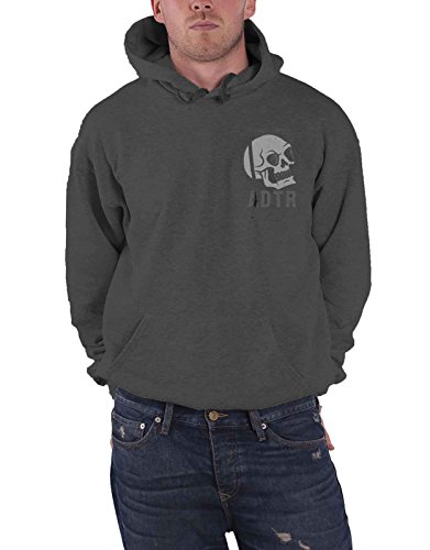A Day To Remember Hoodie Band Logo Crest Official Mens Black Pullover Size XL