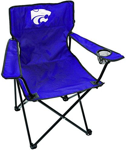Rawlings NCAA Kansas State Wildcats Unisex LP0056NCAA Game Changer Chair, Black, Adult