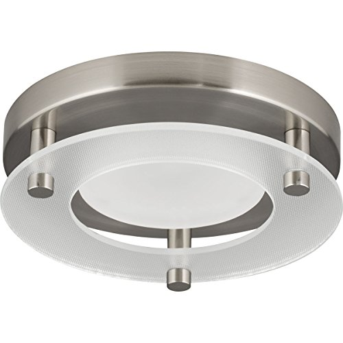 Progress Lighting P8247-09-30K LED Flush Mount, Brushed Nickel