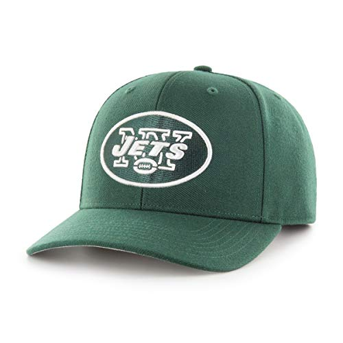 (OTS NFL New York Jets Male All-Star Dp Adjustable Hat, Dark Green, One Size)