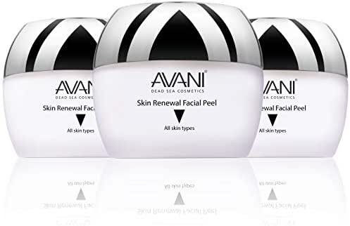 AVANI Classics Skin Renewal Facial Peel   Enriched with Vitamins E & C   Infused with Dead Sea Minerals - 1.7 fl. oz. (3-pack)