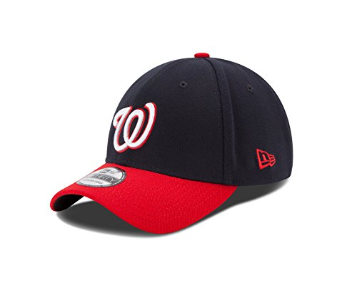 (MLB Washington Nationals Junior Team Classic Alternative 39Thirty Stretch Fit Cap, Blue, Child/Youth )