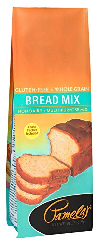 Mix Wheat Free Bread (Pamela's Products Gluten Free, Bread Mix, 19 Ounce Packages (Pack of 6))