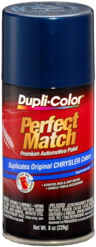 Dupli-Color EBCC04097  Patriot Blue Metallic Chrysler Perfect Match Automotive Paint - 8 oz. ()