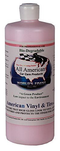 All American Car Care Products American Vinyl and Tire (32 Ounces) American Tire Auto