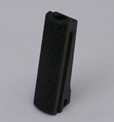 1911 Colt Mainspring Housing Checkered Backing Black (Fusion 1911 Parts)