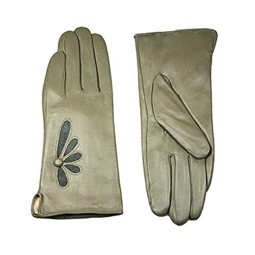 WMLTHERGLVES Winter Gloves Leather Gloves Multicolored Sheepskin Super Soft Velvet Lined Warmer Sheaths