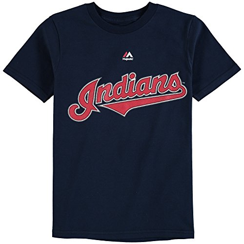 Outerstuff Yan Gomes Cleveland Indians #7 Youth Player Name & Number T-Shirt (Youth Small 8)