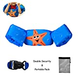 Elejolie Swim Aids for Toddlers,Kids Learn to Swim Life Jacket for Toddlers,Swim Aid