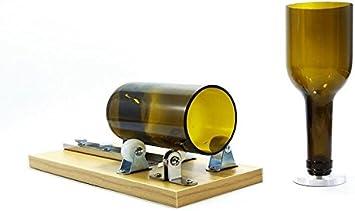 Treasure-house botella de vino cortador botella de vidrio herramienta de corte kit herramienta de cristal de seguridad profesional para la reutilización Recycle cerveza botella de vino