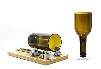 Treasure-house botella de vino cortador botella de vidrio herramienta de corte kit herramienta de