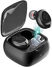 TXG Audifonos Inalámbricos, Mini Audífonos Inalámbricos Bluetooth 5.0 Deportivos IPX6 Impermeable, Auriculares