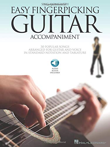 Sing Along With Easy Fingerpicking Guitar Accompaniment Book ...