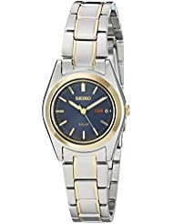 Seiko Womens SUT110 Two-Tone Stainless Steel Watch