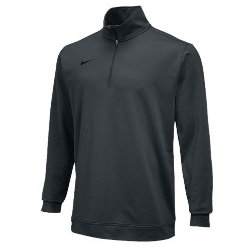 NIKE 1/2 Zip Top - Anthracite - (Nike Half Zip Pullover)