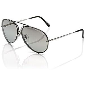 orsche Design 8478B Sunglasses Light Gunmetal with Interchangeable 66mm Lens