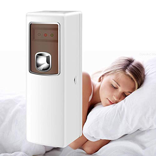 Automatic Air Freshener Ideal with Automatic Spray Air Freshener Dispenser,Air Freshener Dispenser Automatic Spray Kit Perfume Aerosol Dispenser Toilet Bathroom Deodorant Hotel Timing Induction ()
