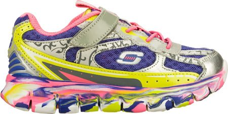 Skechers Kids 80882L Synergy - Kickety Kick Athletic Sneaker (Little Kid) Multi