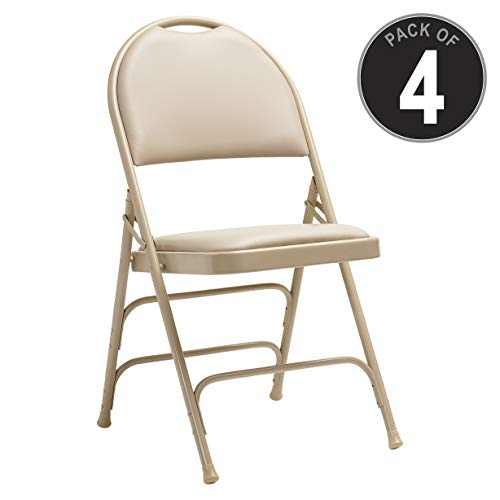 (Samsonite 57314-2899 Folding Chair, Neutral)