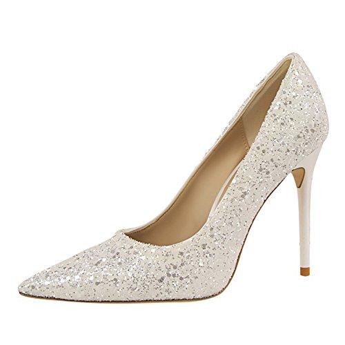 de Pisos Sandalias al QXH Zapatos Cuero de Se Mujer 1pSxawIq