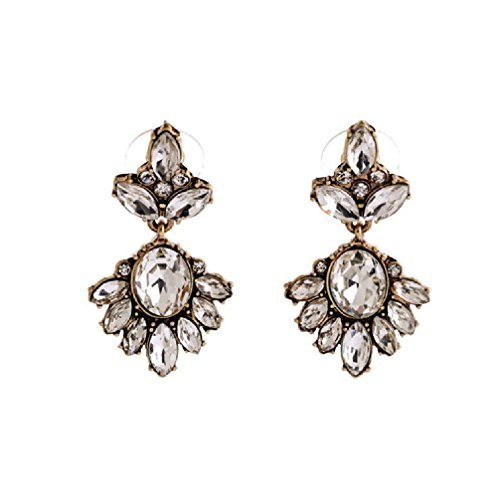 Fun Daisy Jewelry Vintage Multi-Bead Retro Fashion Earrings - ed00748