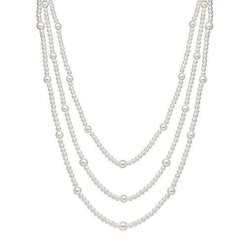 Multi Necklace Pearl Freshwater (100