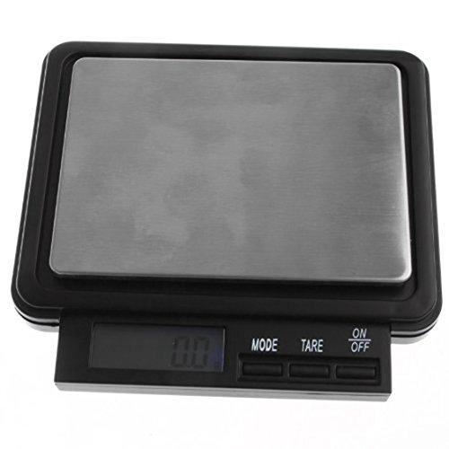 Amazon.com: TOOGOO(R) 2000g * 0.1g LCD Display Mini Digital Pocket Electronic Jewelry Scale: Kitchen & Dining