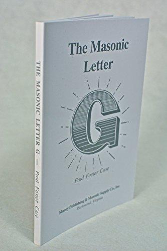 The Masonic Letter G