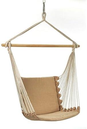Amazonas Belize Az 1013210 Hanging Chair Sand Amazon Co Uk Garden Outdoors