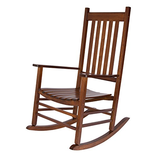 Shine Company Vermont Porch Rocker, Oak