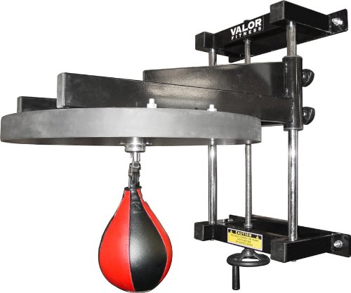 Valor Fitness CA-53 Boxing Speed Bag Platform with Bag - 2 in. Platform