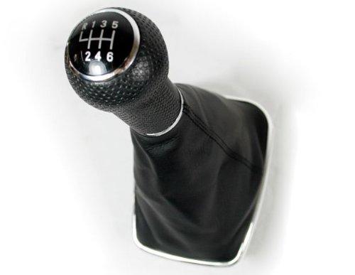 (6 Speed Chrome Gear Shift Knob 1pcs Shift Knob Gaitor For 99-2005 VW Mk4 Golf/GTI/R32 1999-2004 Mk4 Jetta / Bora 1999 2000 2001 2002 2003 2004 2005)
