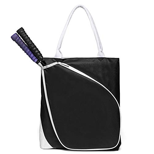 Tennis Tote, Women's Tennis Bag, Waterproof, Light, Can Be Easily Equipped with Various Sports Equipment - for Outdoor Travel, Gym, Picnic,15.74 17.71 2.75inch