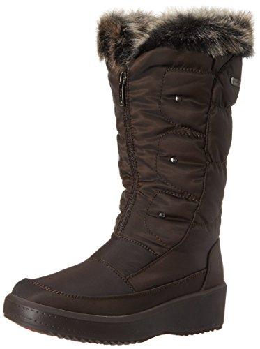 Louise Boot Dark Women's Pajar Brown 8q5YYf