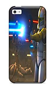 Pretty UVEKsuO3986GgKyg Iphone 6 4.7'' Case Cover/ Star Wars Clone Wars Series High Quality Case