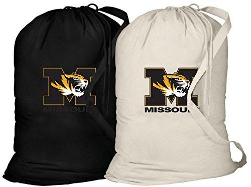 Broad Bay University of Missouri Laundry Bag -2 Pc Set- Mizzou Clothes Bags