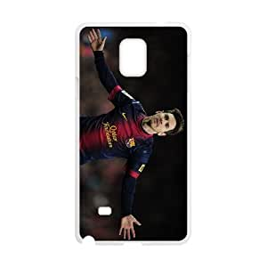 Gorgeous Lionel Messi Samsung Galaxy Note 4 Cell Phone Case Cool White Beautiful atractiva Nostalgic TUHANG1826561